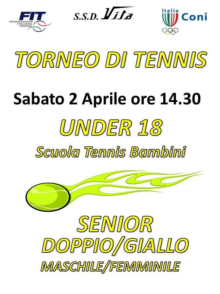 locandina tennis